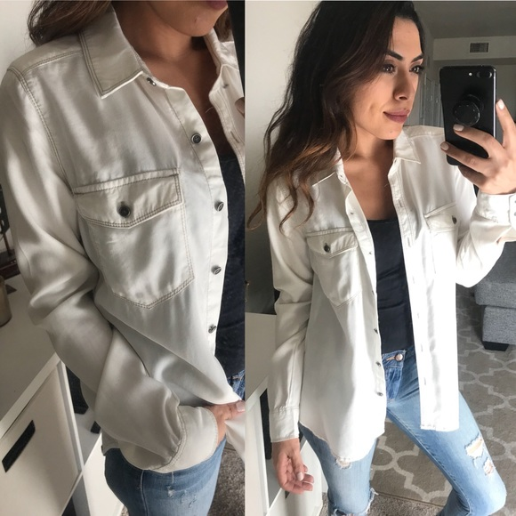Nordstrom Tops - White button up